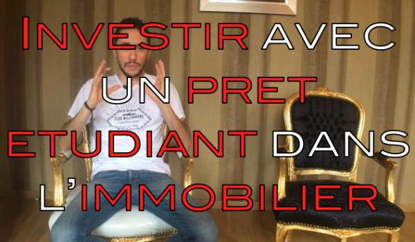 investir immobilier étudiant
