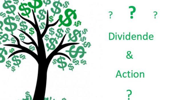 dividende et action